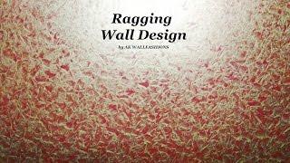 Asian Paints Royale Play Metallics Ragging Wall Design