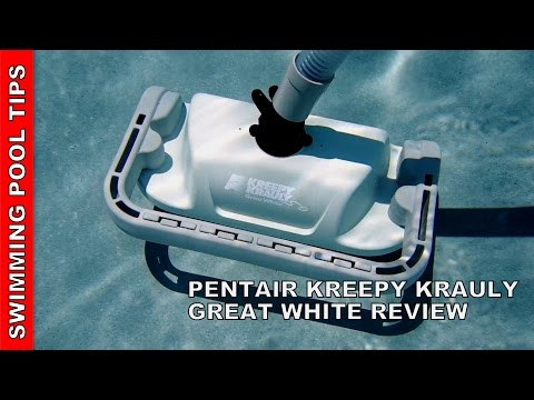 KREEPY KRAULY® GREAT WHITE® Suction Side Cleaner Review
