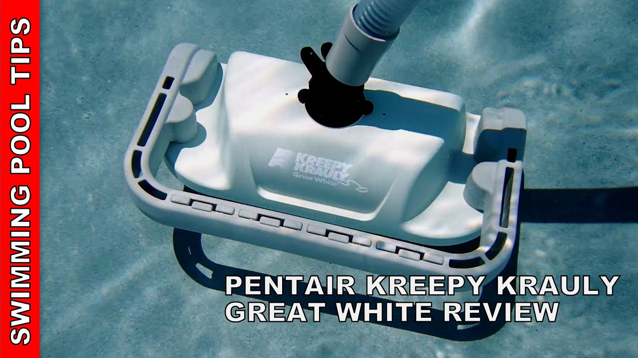 Kreepy Krauly 174 Great White 174 Suction Side Cleaner Review