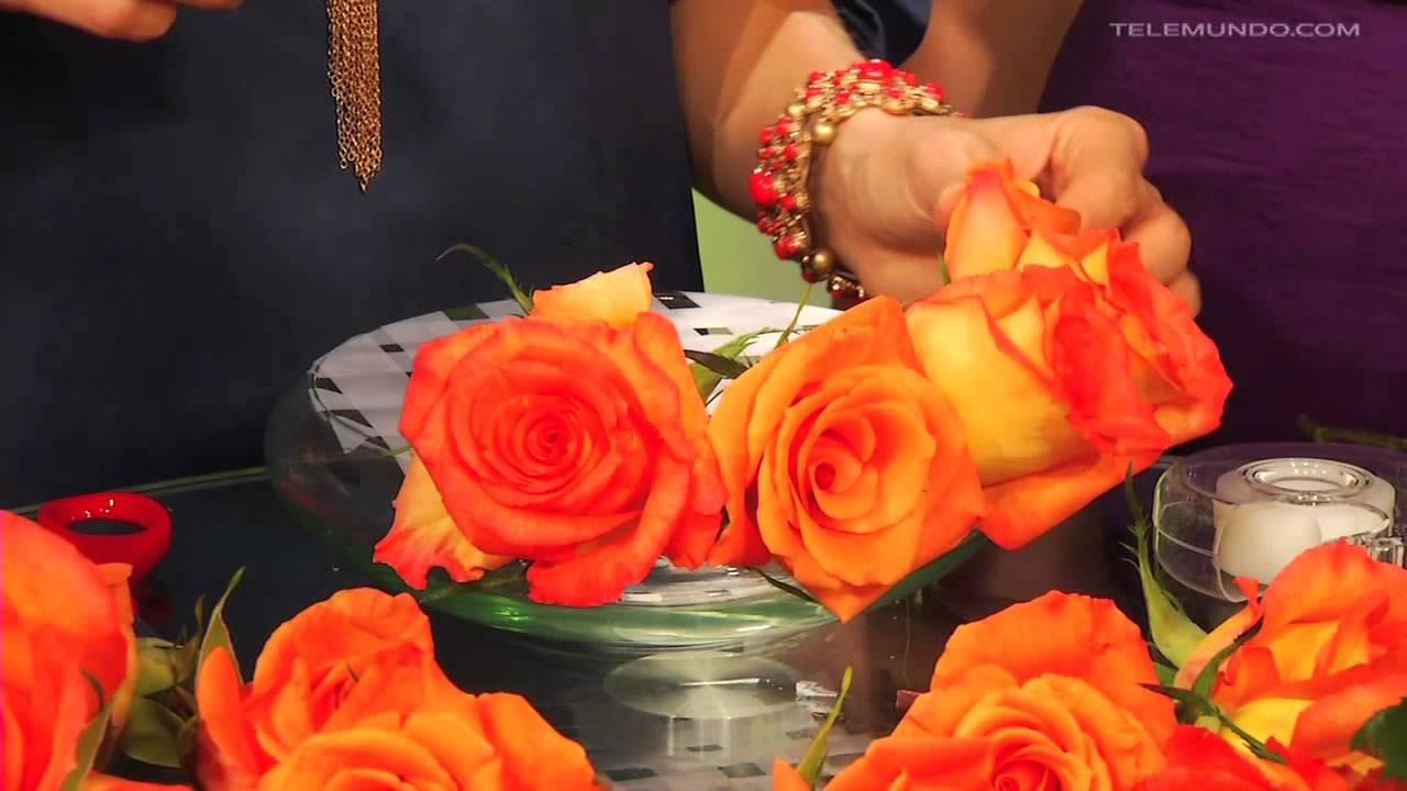 Entre Tú Y Yo Aprende Como Hacer Un Arreglo Floral Fácil