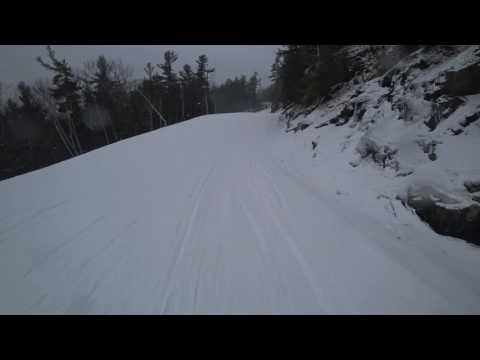 Skiing At Attitash - 12/29/16