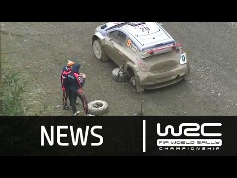 WRC News - Wales Rally GB 2015: Stages 4-6