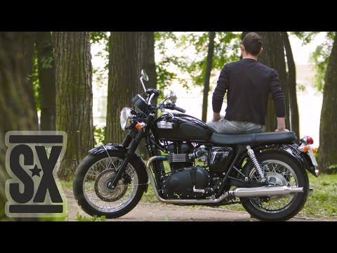 обзор Triumph Bonneville T100 Youtube
