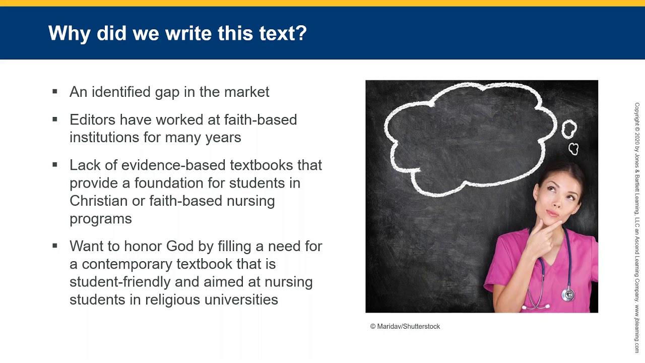 Engaging the Faith-Based Nurse: Exploring Nursing as Ministry Webinar