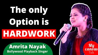You have to take RISK, to become SUCCESSFUL || Amrita Nayak || Playback Singer