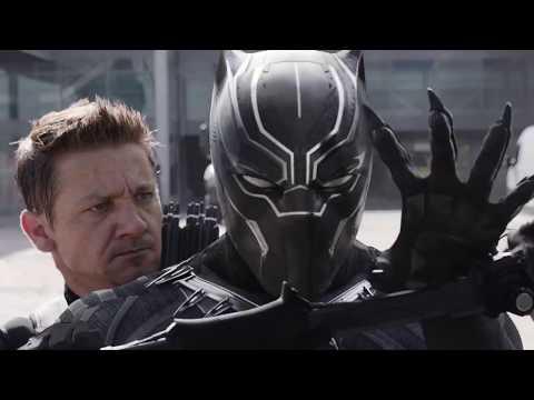 Черная Пантера против Зимнего Солдата и Капитана Америки ! Первый мститель: Противостояние HD