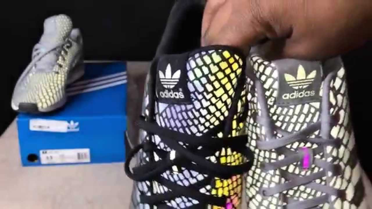 Adidas Xeno ZX Flux Review black and silver color ways