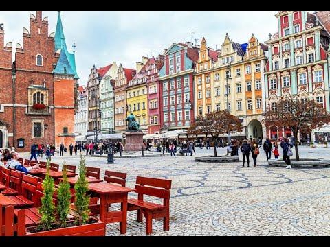Niesamowity Wrocław. Spacer Po Wrocławiu. Walk In Wroclaw. ПРОГУЛКА ВРОЦЛАВОМ (ПОЛЬЩА)