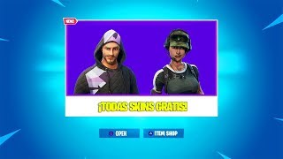 *FREE SKINS* ALL SKINS THAT GIVE FORTNITE TO YOUR PLAYERS! Fortnite Battle Royale