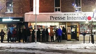 RAW: Montrealers waiting for Charlie Hebdo