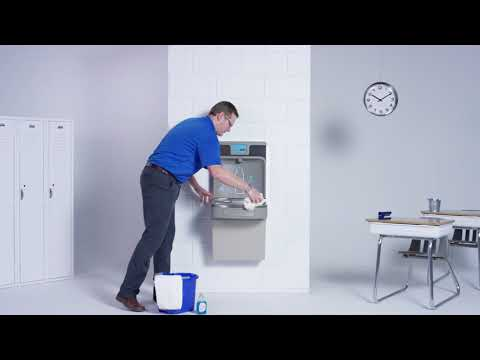 Care and Cleaning for Elkay ezH2O Bottle Filling Stations