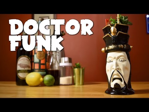 Doctor Funk - How to Make the Only Classic Tiki Cocktail with a Polynesian Origin