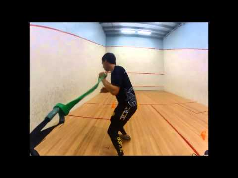 Fitness Rotation Exercises for Squash, Tennis , Badminton,Golf