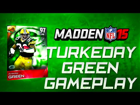 Madden NFL 15 Ultimate Team - TURKEYDAY AHMAN GREEN MAKES HIS CASE FOR BEST HB -  MUT 15