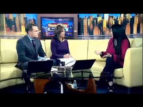 Sylvia Day Visits Fox 5 NY To Discuss