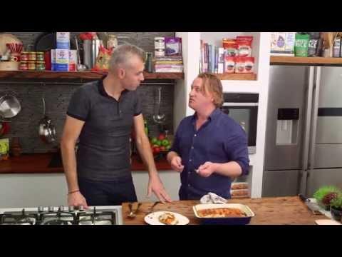 Beef, Bacon & Mushroom Cannelloni on Good Chef Bad Chef