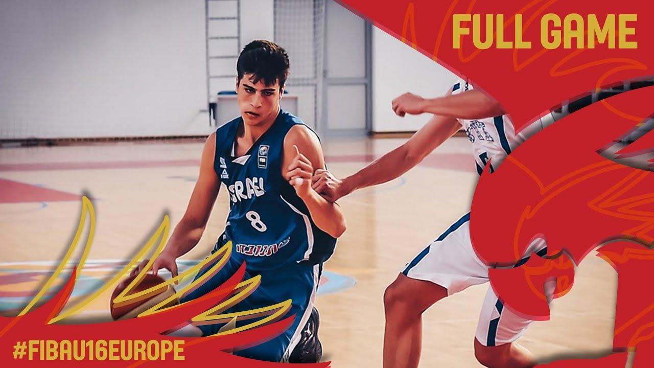 Estonia v Israel - Full Game - Classification 11-12 - FIBA U16 European Championship 2017
