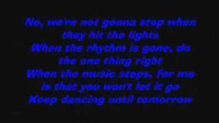Jonas Brothers - Dance Until Tomorrow (Brand New SONG) (Lyrics on screen)