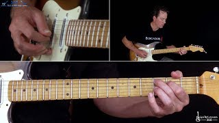 The Unforgiven II Guitar Lesson (Full Song/No B-bender) - Metallica