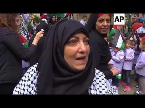 Hamas leader and Palestinian refugees on Trump Jerusalem announcement
