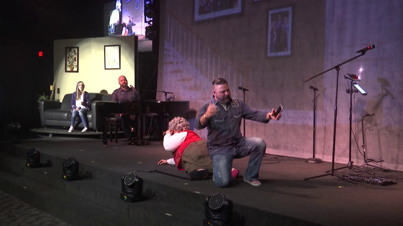Cornerstone Church Christmas Comedy Skit.