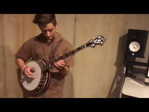 Jonny Shred Banjo Over Hip-Hop Beat Pt 3!