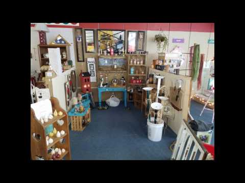 Willow Wood Antique & Craft Mall Craft Video 1