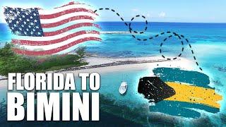 How to cross t๐ Bimini by boat - Florida USA to The Bahamas
