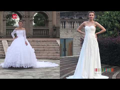 Lightinthebox︱Wedding Dress Shopping