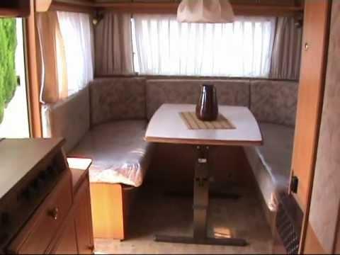 caravanas vendrell dethleffs nomat 530 tk youtube. Black Bedroom Furniture Sets. Home Design Ideas