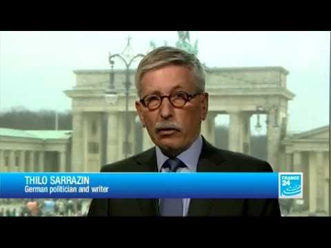 FRANCE 24 The Interview - Thilo Sarrazin, German Politician And Writer