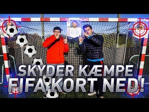 SKYDER KÆMPE FIFA KORT NED!!