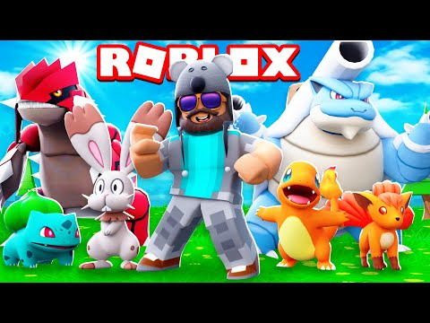 BEST POKEMON GAME EVER!!!!  Pokémon Brick Bronze #1  ROBLOX