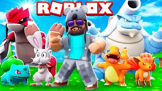 BEST POKEMON GAME EVER!!!! | Pokémon Brick Bronze [#1] | ROBLOX