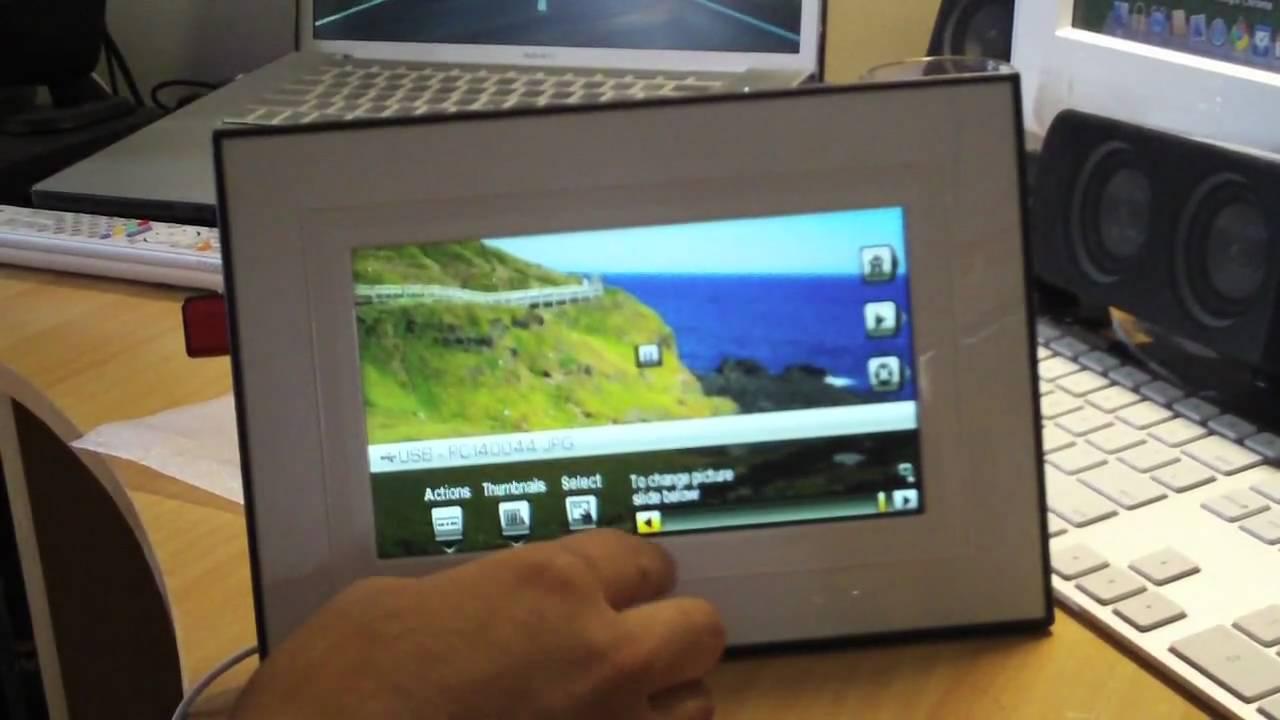 kodak easyshare p720 digital frame part2 youtube. Black Bedroom Furniture Sets. Home Design Ideas