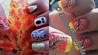 Fall/Halloween Nail Tutorial (Collab w/ xobeautyjunkie) Thumbnail