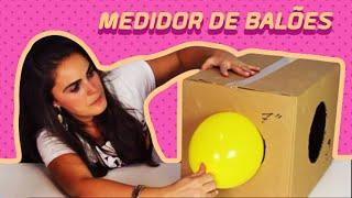 Medidor de Balões Caseiro - Faça Você Mesma!