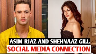 Asim riaz and shehnaaz Gill creating fire on social media asim turned 27 today