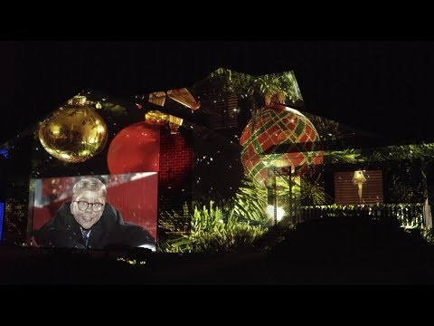 Randi West - A holiday light display that will blow your mind