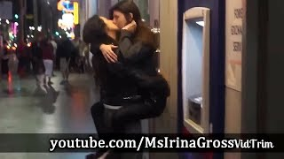 Girl Asking Strangers For A Kiss Experiment MUST WATCH