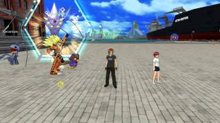 Testing Screen Recording on Digimon Masters Online