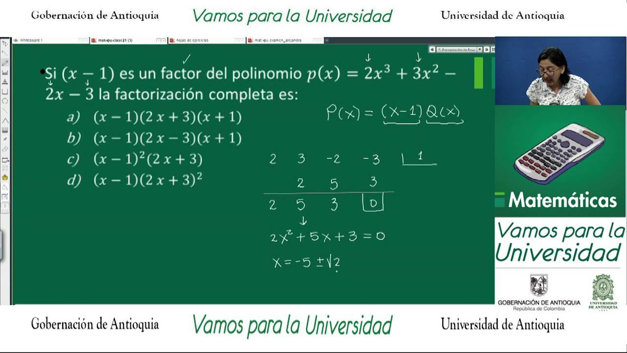 Matemáticas Clase 21 Alejandra Rodríguez Repaso De Conceptos Youtube
