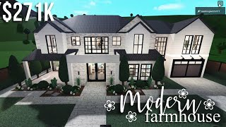 Modern Farmhouse   Roblox Bloxburg   GamingwithV