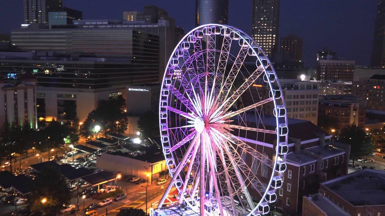 FlyWorx Aerial Video: Centennial Park, Concert, Skyview ...