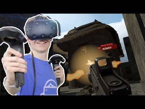 VIRTUAL REALITY MILITARY FPS | Alpha Mike Foxtrot (HTC Vive Gameplay) ft. RowdyGuy & VR Oasis