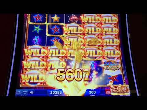 Ocean Magic Grand $30/spin - $100 Wild Rose - High Limit Slot Play