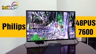 Philips 48PUS7600 - обзор 4K UHD телевизора на базе ОС Android(Цена и характеристики Philips 48PUS7600: http://hotline.ua/av-televizory/philips-48pus7600/ Отзывы и вопросы Philips 48PUS7600: Каталог телевизоро..., 2015-09-14T11:23:51.000Z)