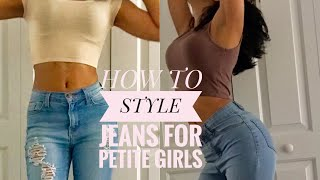 HOW TO STYLE JEANS FOR PETITE GIRLS   JaylahMarshae