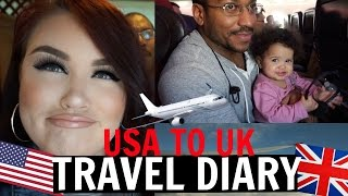 USA TO UK | Family time + landing in LONDON! Just Taylor thumbnail