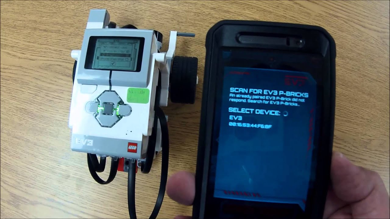 Using The LEGO Commander App To Control EV3 Mindstorms Brick